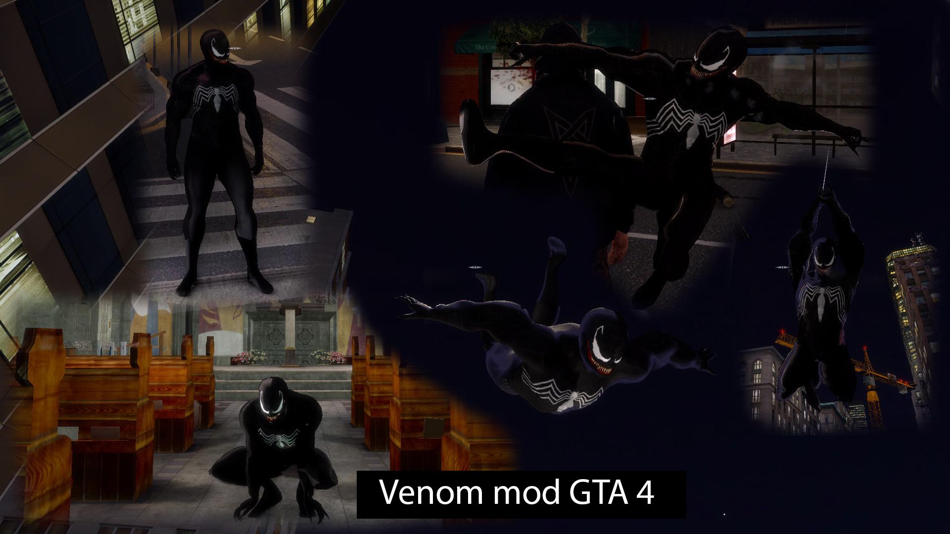 Venom from Spider-man 3 for GTA 4 addon - Mod DB