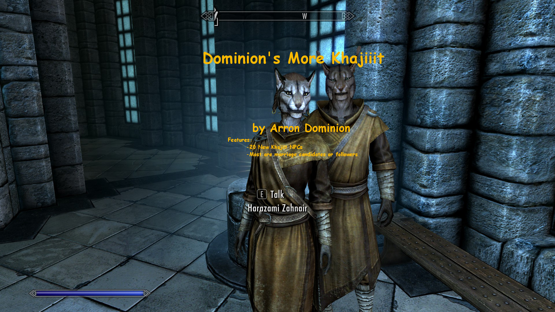 Dominion's More Khajiit - Special Edition addon - Mod DB
