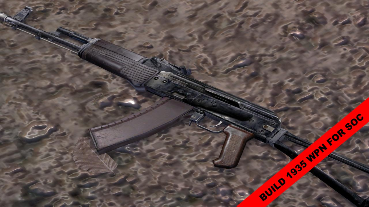 build 1935 weapons for SoC in High Res v1 1 addon - S T A L K E R