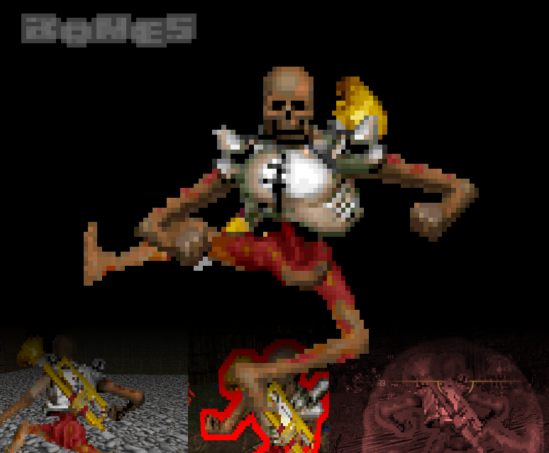 Bones for QCDE (TO BE UPDATED) addon - QC: Doom Edition mod