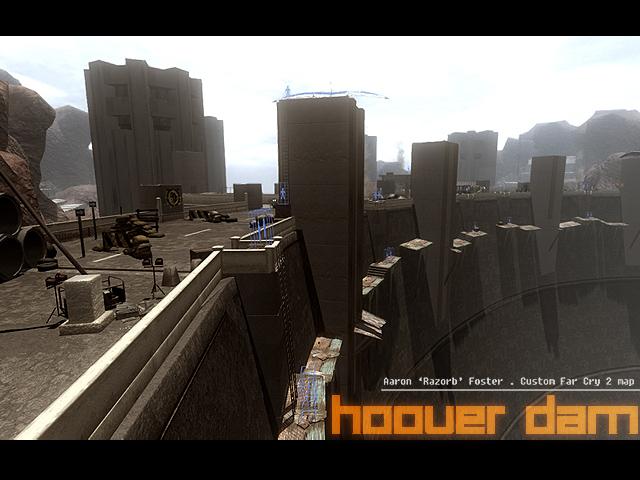HooverDam Addon Far Cry Level Design Contest Mod DB - Far cry 4 world map blank