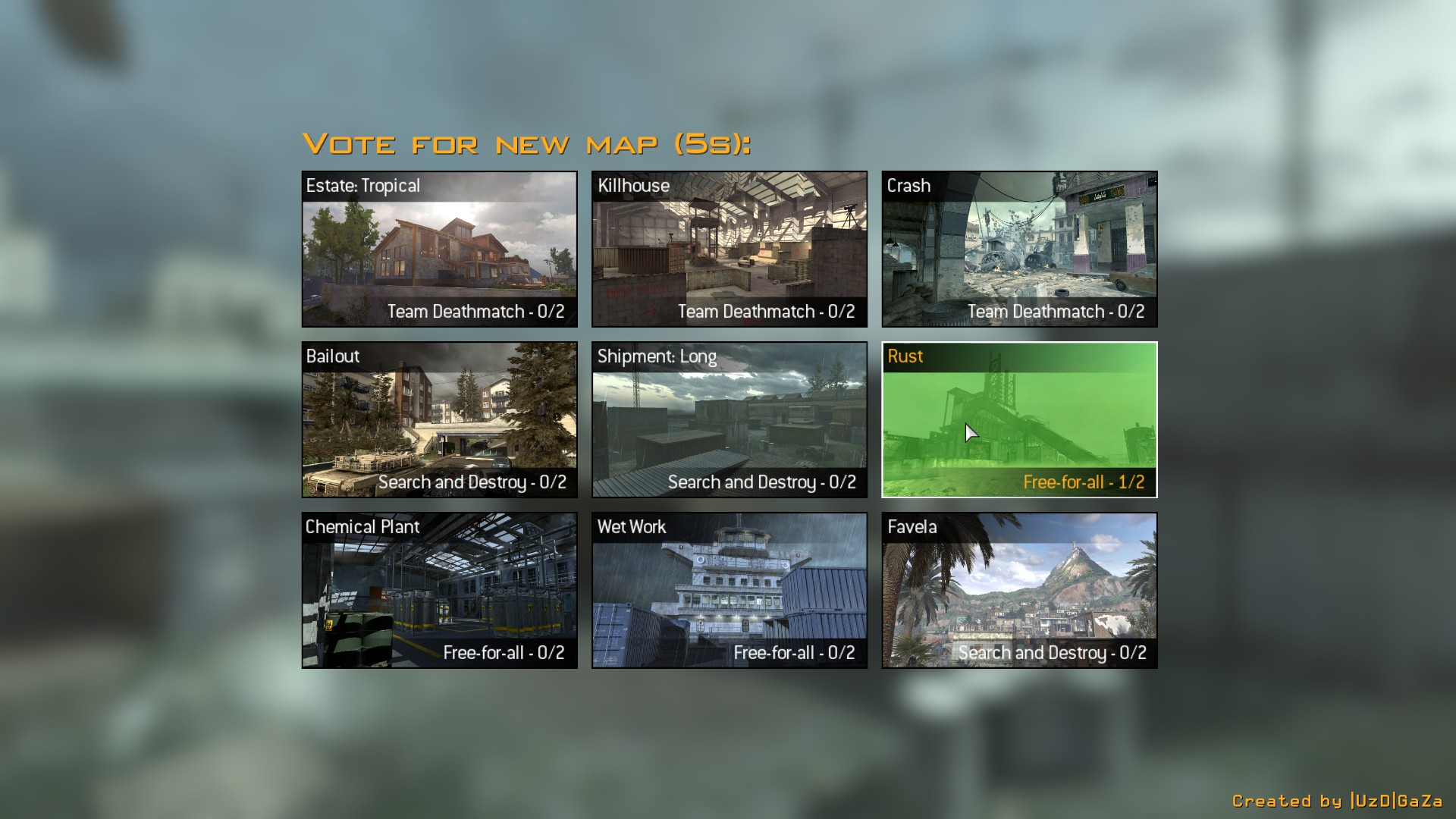 mapvote 0 5 4 r2 file - Map Voting Menu Mod for Call of Duty