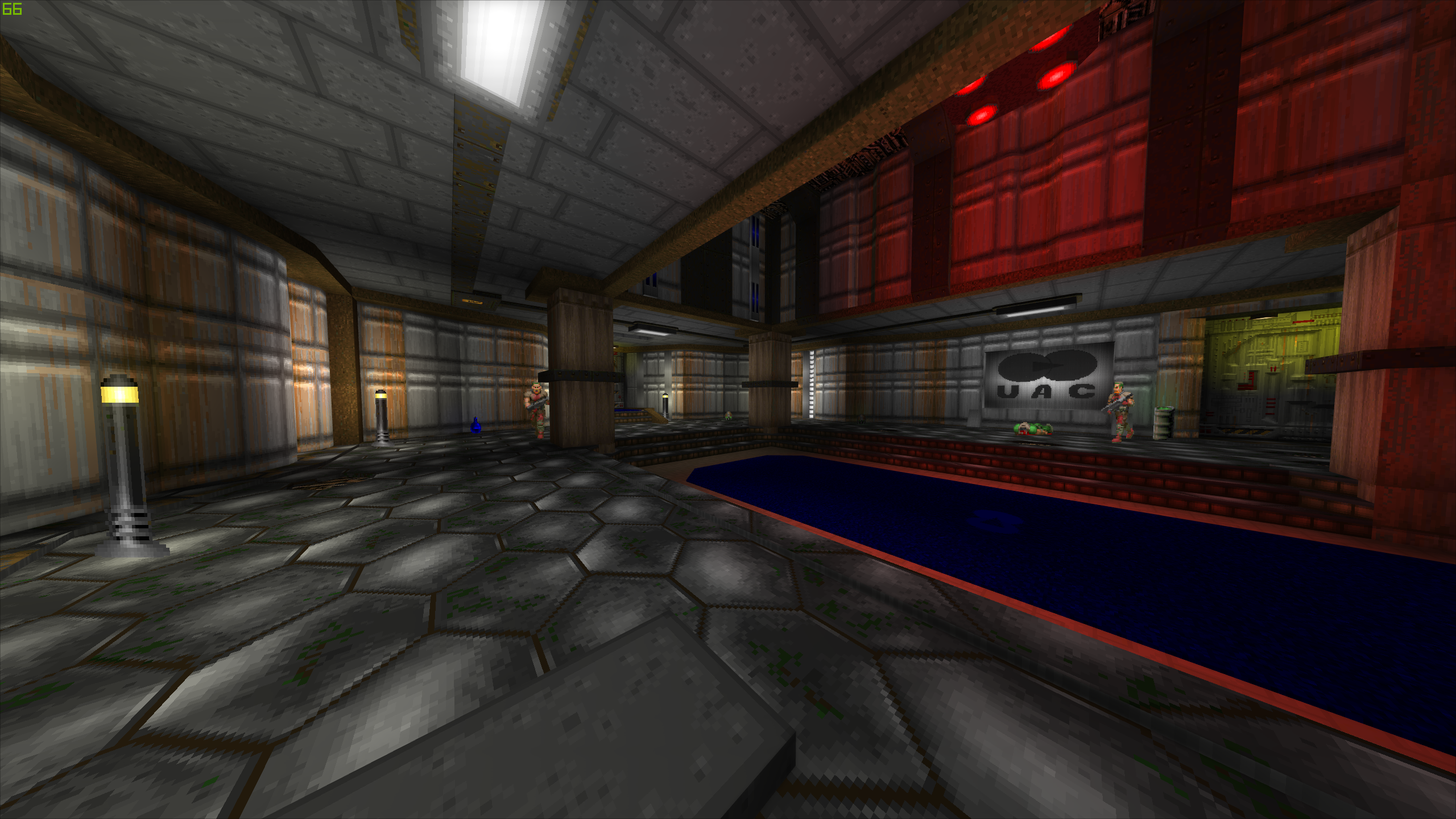 E1M1: Hangar Remaster addon - Doom - Mod DB