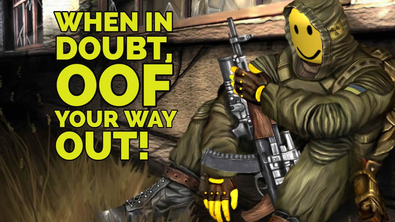 Coc Roblox Death Sound Addon S T A L K E R Call Of Chernobyl