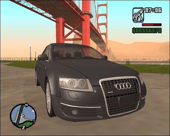 Audi A6 3 0 Tdi Quattro Addon Grand Theft Auto San