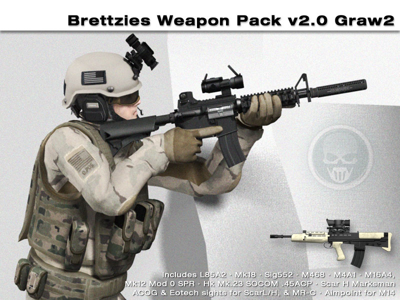 brettzies weapon pack
