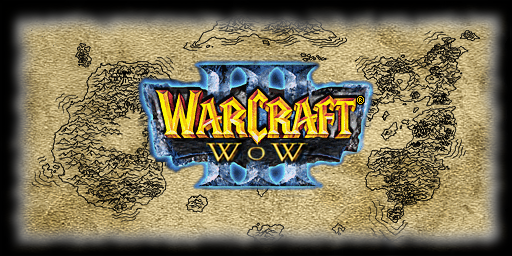 world of warcraft logo. version of Wc3:WoW,