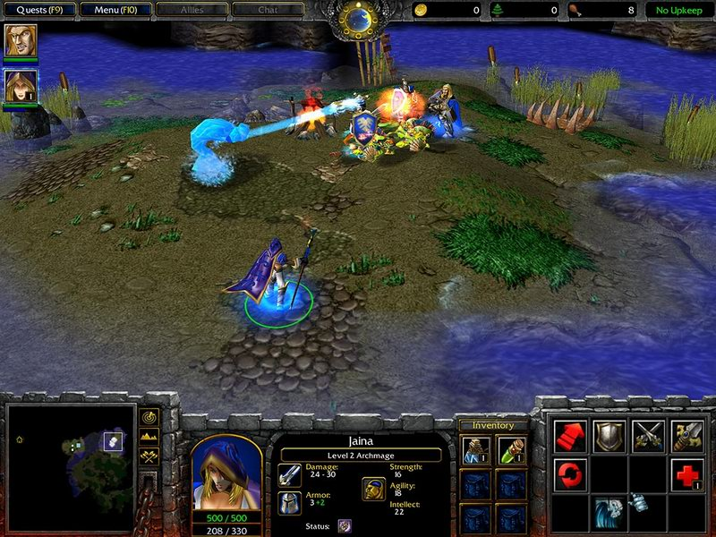 Rpg Map Pack Improved Addon Warcraft Iii Reign Of Chaos Mod Db