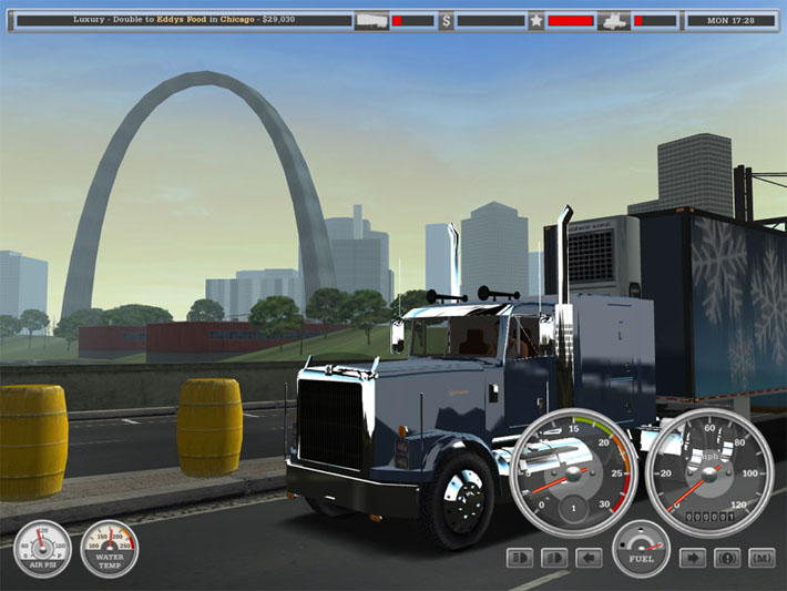 18 wheels of steel haulin patch 1.06