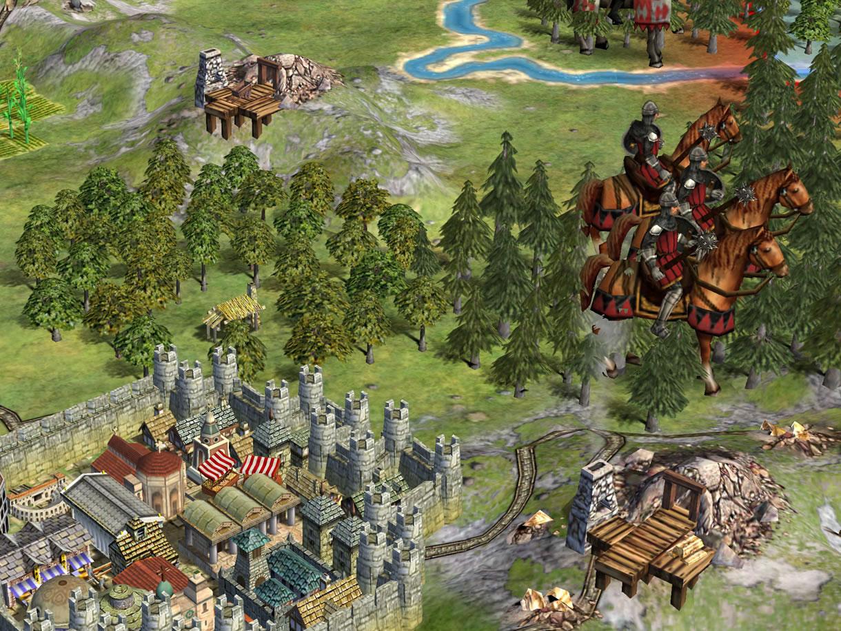 Civ 4 Save/Scenario/Map Editor file - Civilization IV