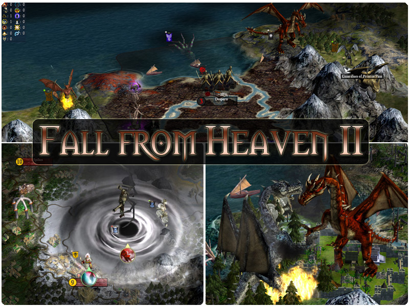 [MOD Civilization IV] Fall From Heaven 2 Banner