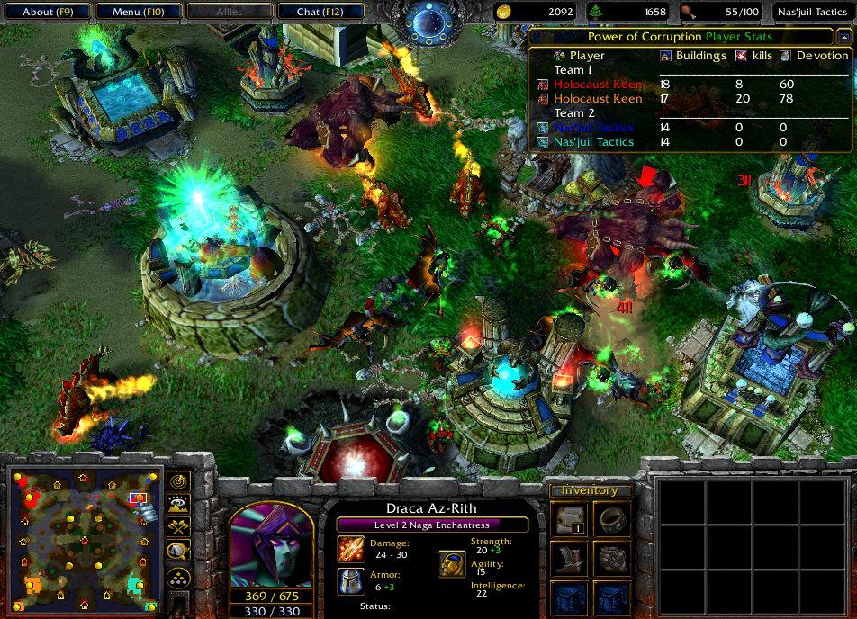 Warcraft iii: the frozen throne game mod starcraft omega.