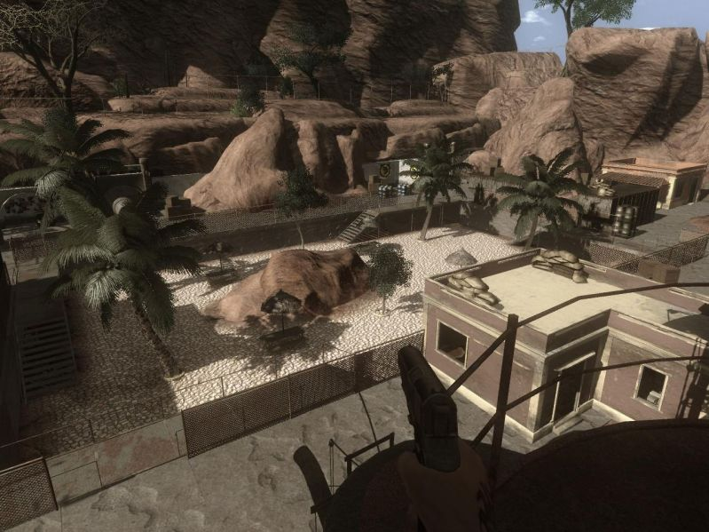 Rebels Outpost Crysis Map Outpost Ia Addon Far Cry 2 Mod Db