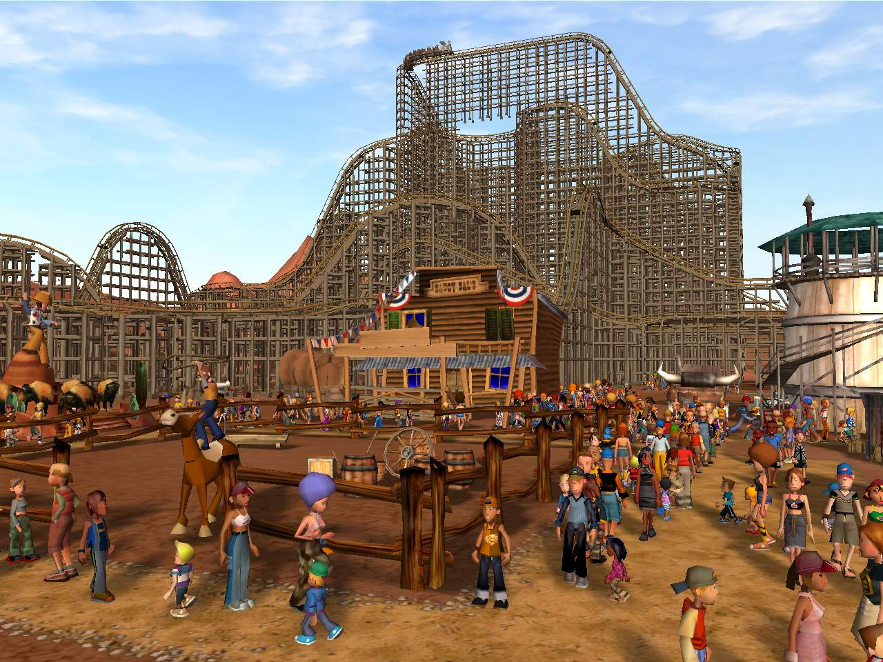 Patch 2 US file - RollerCoaster Tycoon 3 - Mod DB