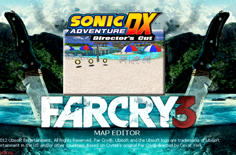 Far Cry 3: Emerald Coast from Sonic Adventure DX remake addon - Far