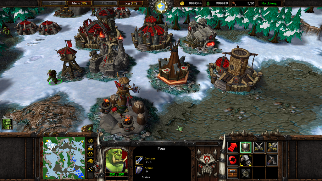 Buildings Patch file - Warcraft rebirth mod for Warcraft III