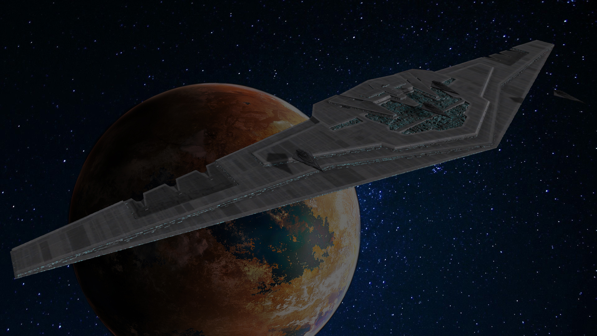 Supremacy Dreadnought freerelease addon - Empire At War