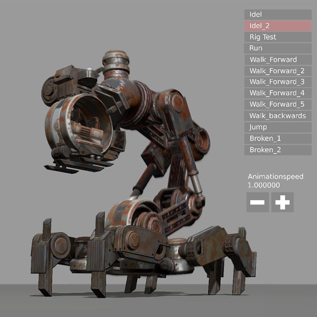 Mech Neck Walker - Blender Game Engine And Unity 3D addon - Mod DB