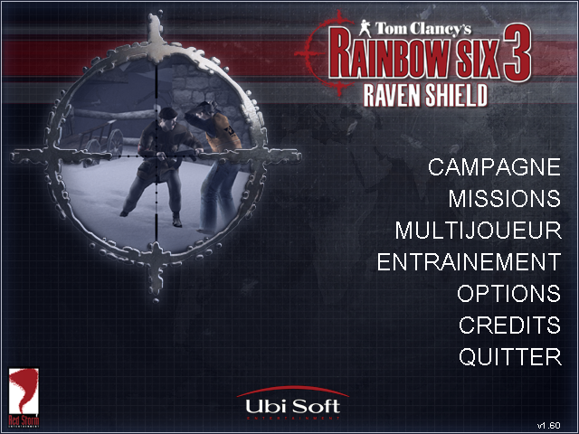 French lang pack for Rainbow Six 3: Raven Shield (text+sound