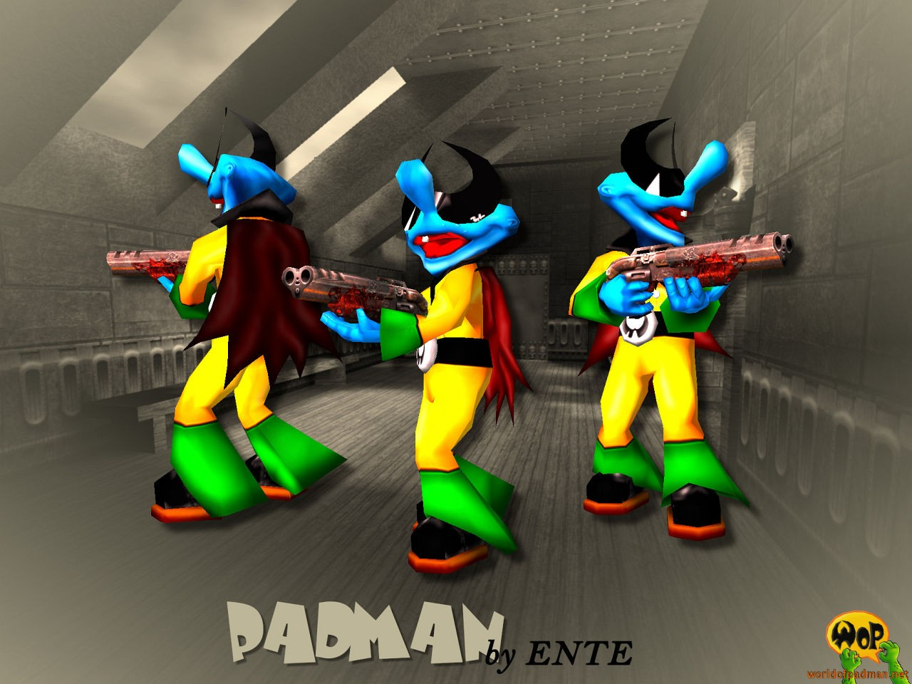 ENTE's Padman for Quake 3 Arena