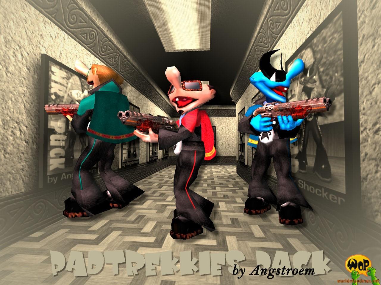 Padtrekkies Pack for Quake 3 Arena