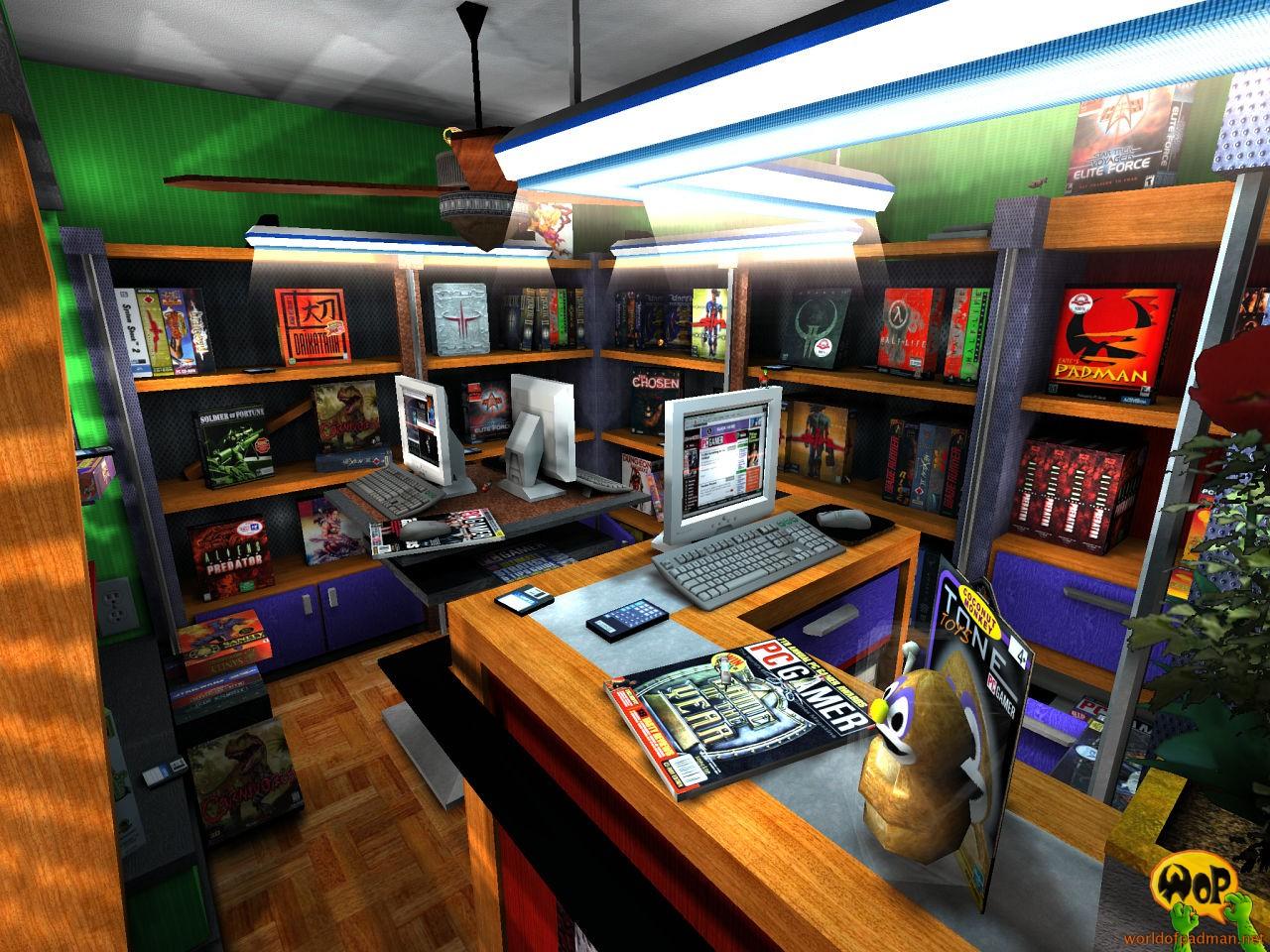 ENTE's PadShop for Quake 3 Arena