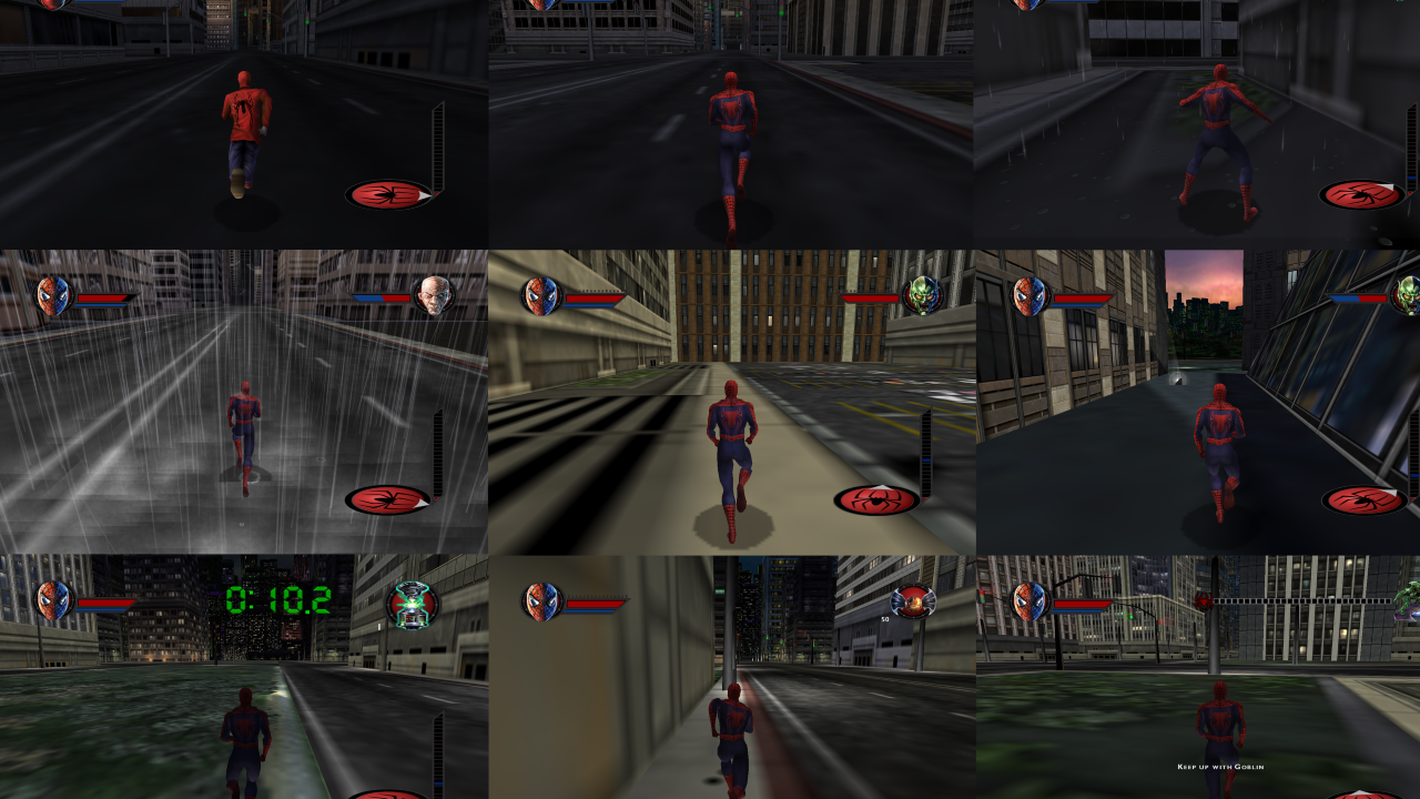 SpiderMan The Movie Game Free Roam mod file - Mod DB
