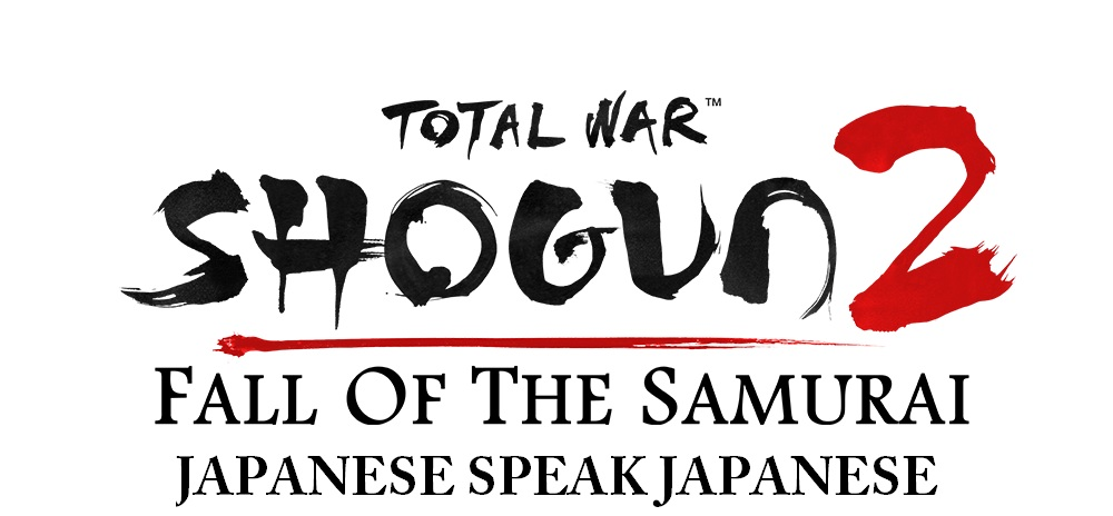 Fall of the Samurai Japanese SPEAK Japanese addon - Total