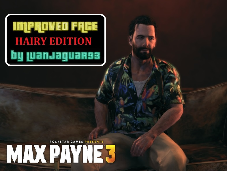 Max Payne 3 Improved Face By Luanjaguar93 Hairy Edition File Mod Db