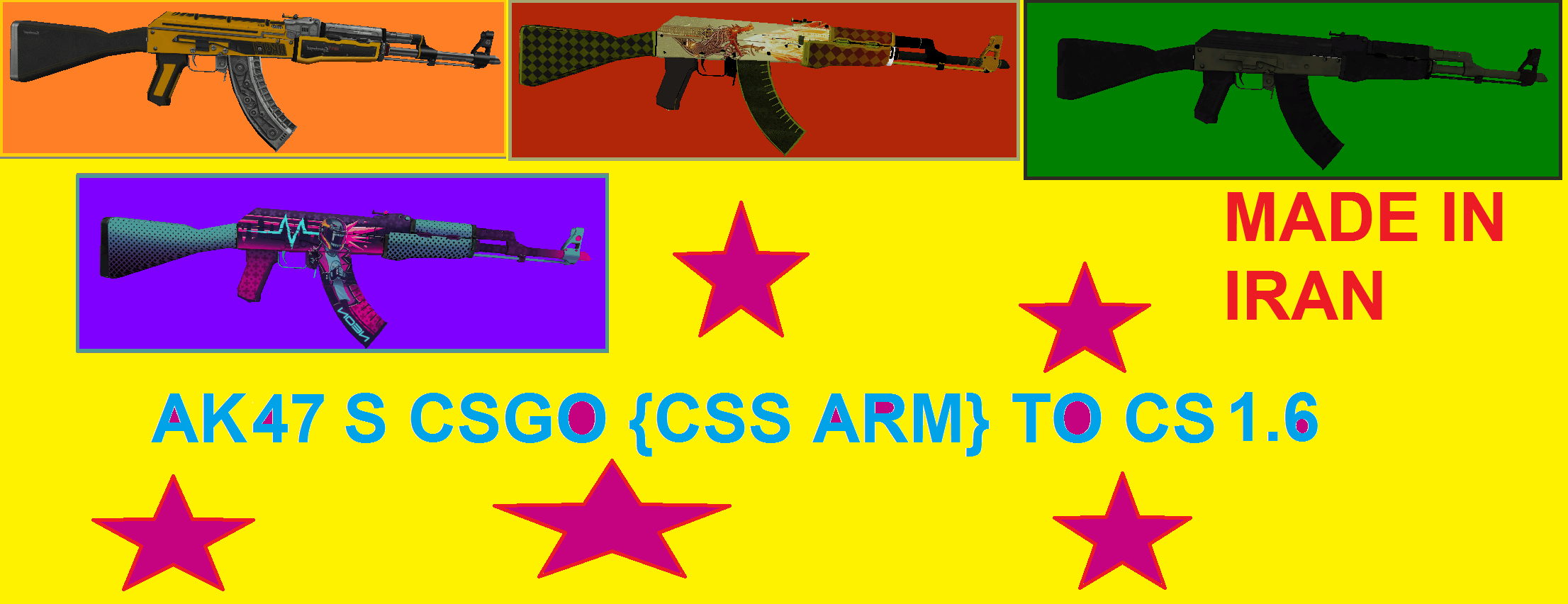 Csgo Guncss Handin Cs16 Addon Counter Strike 16 Global