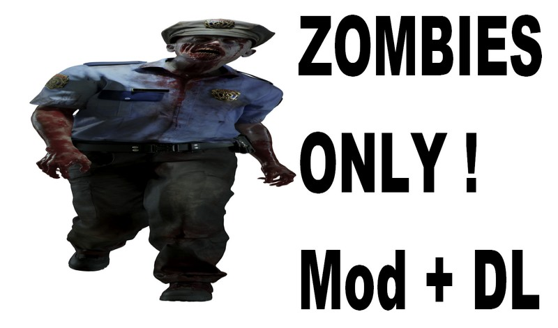 Resident Evil 2 Remake zombies only mod file - Mod DB
