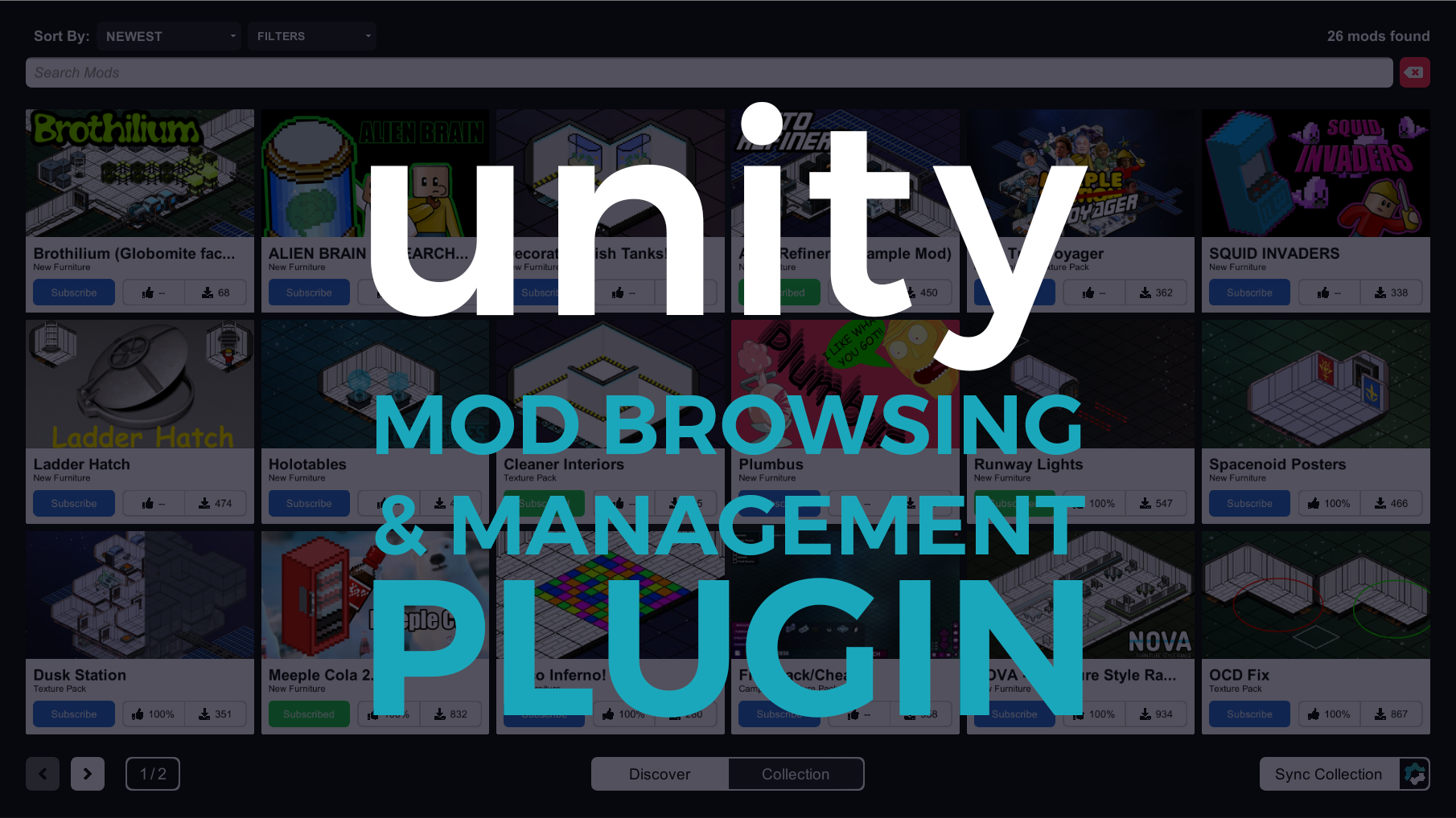 Unity Mod Browser & Manager file - Mod DB