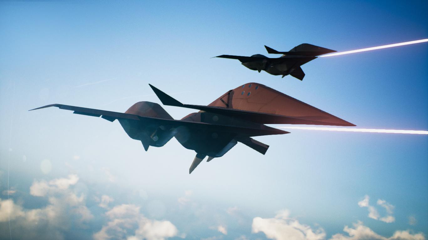 ADF-11F Z O E -Odin-(+ Vanilla Template) addon - Ace Combat