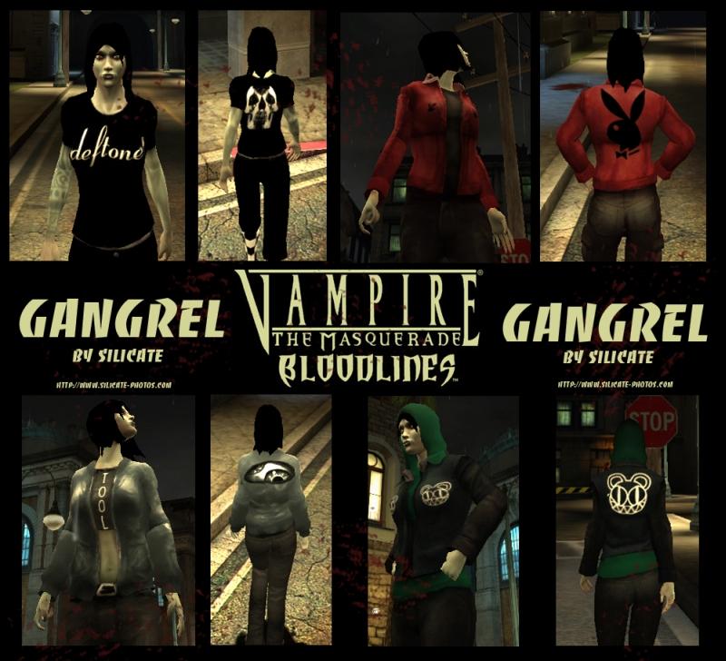 Gangrel Fem Addon Vampire The Masquerade Bloodlines