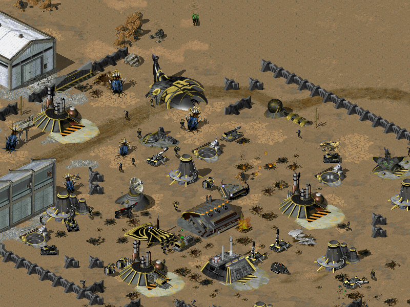 To play the build you need to extract all files to your tiberian sun