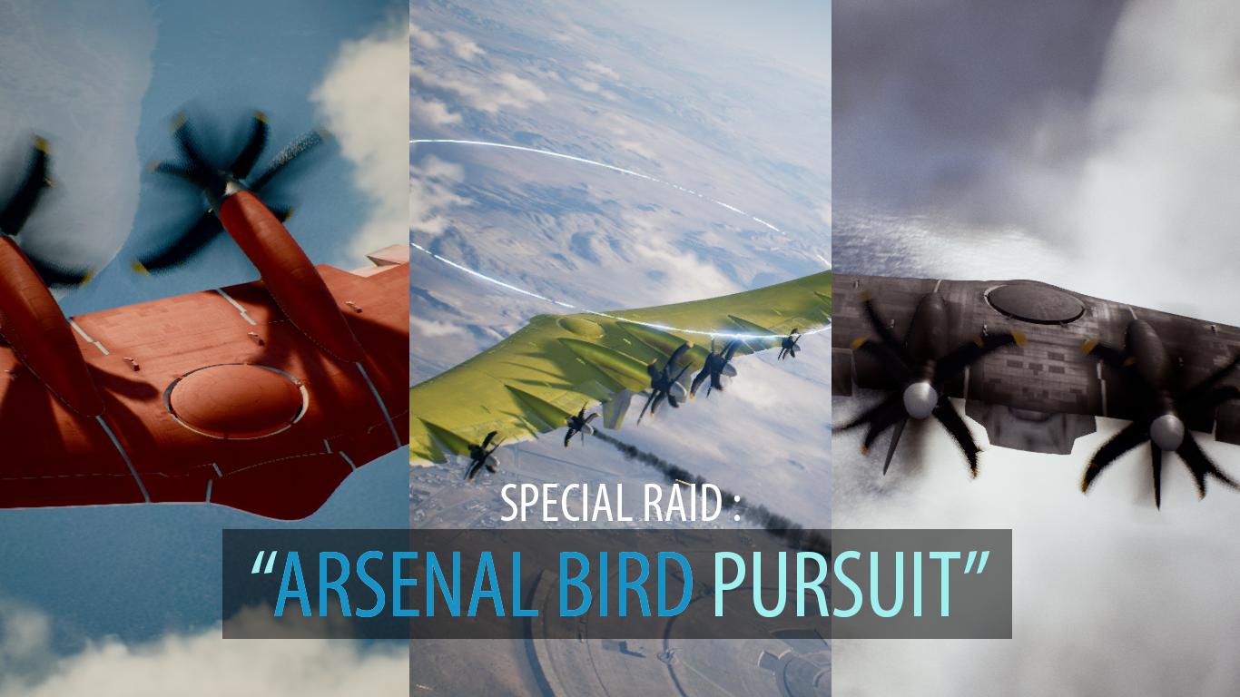 Arsenal Bird Pursuit Addon Ace Combat 7 Skies Unknown Mod Db