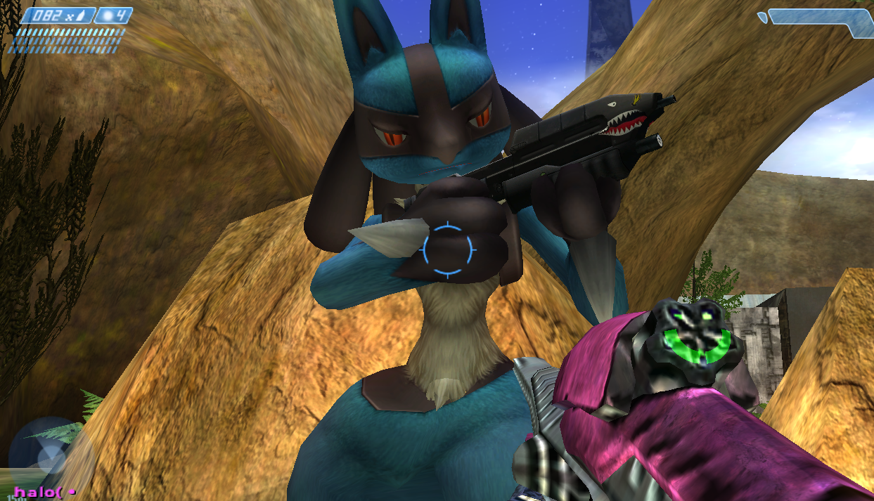 Halo Lucario Multiplayer Mod Ex file - Halo: Covenant Edition mod