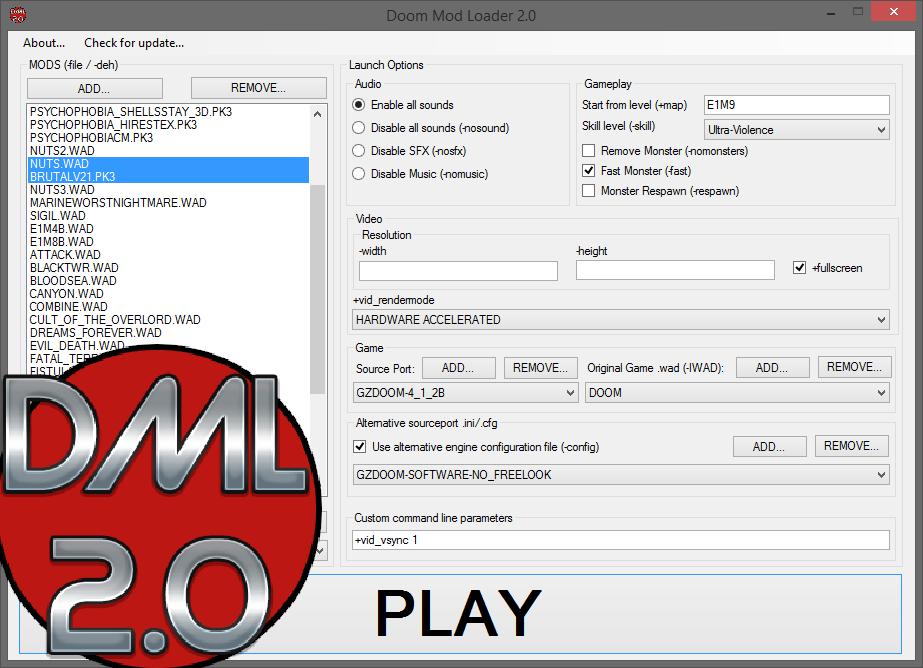 Doom Mod Loader 2 0b file - Mod DB