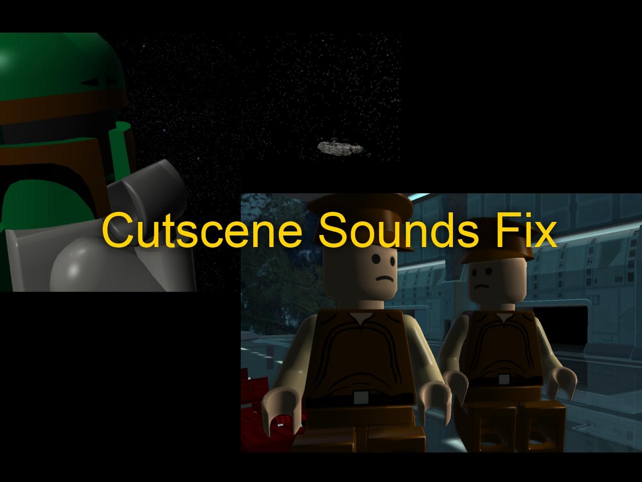 Lego Star Wars The Complete Saga Cutscene Sounds Fix File