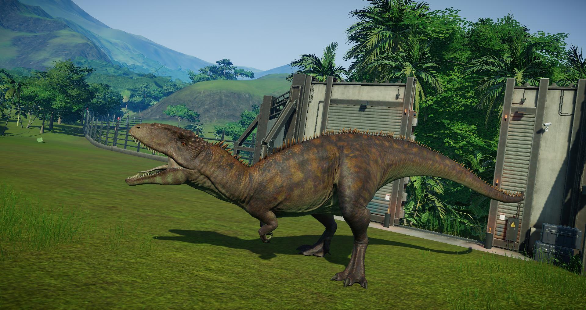 Carchar Addon Carcharodontosaurus Model Edit For Jurassic World Evolution Mod Db Update dinosaur textures at runtime. jurassic world evolution mod db