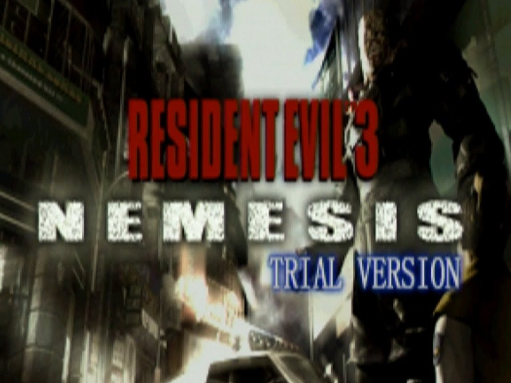 Resident Evil 3 Nemesis Demo Disk Trial Version File Mod Db