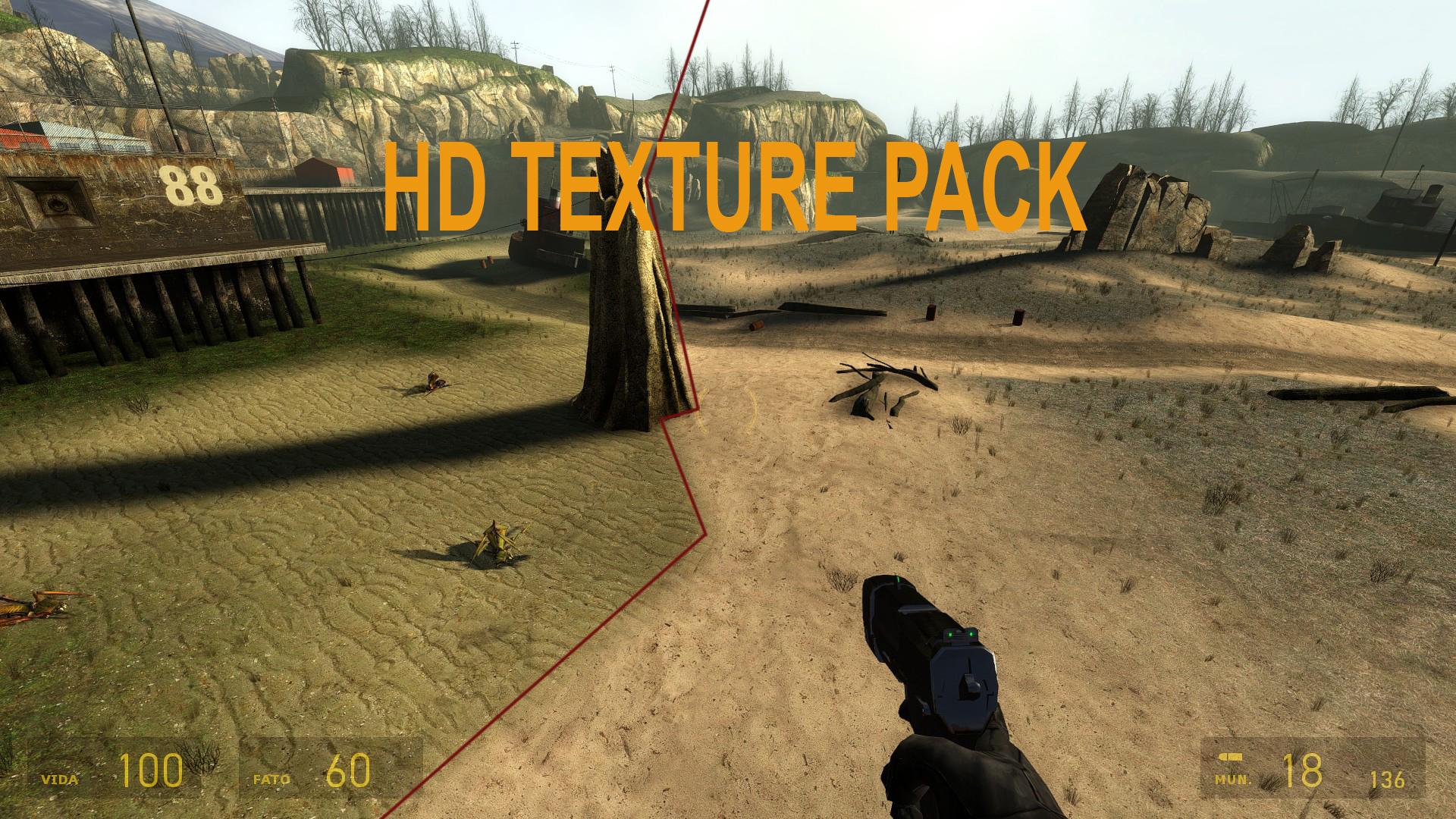 Half Life 2 Update Hd Textures Addon Mod Db