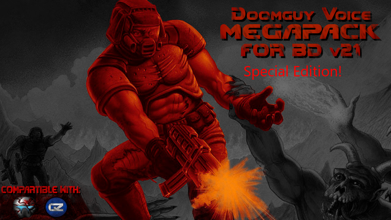 Doomguy Voice Megapack Special Edition Addon Mod Db
