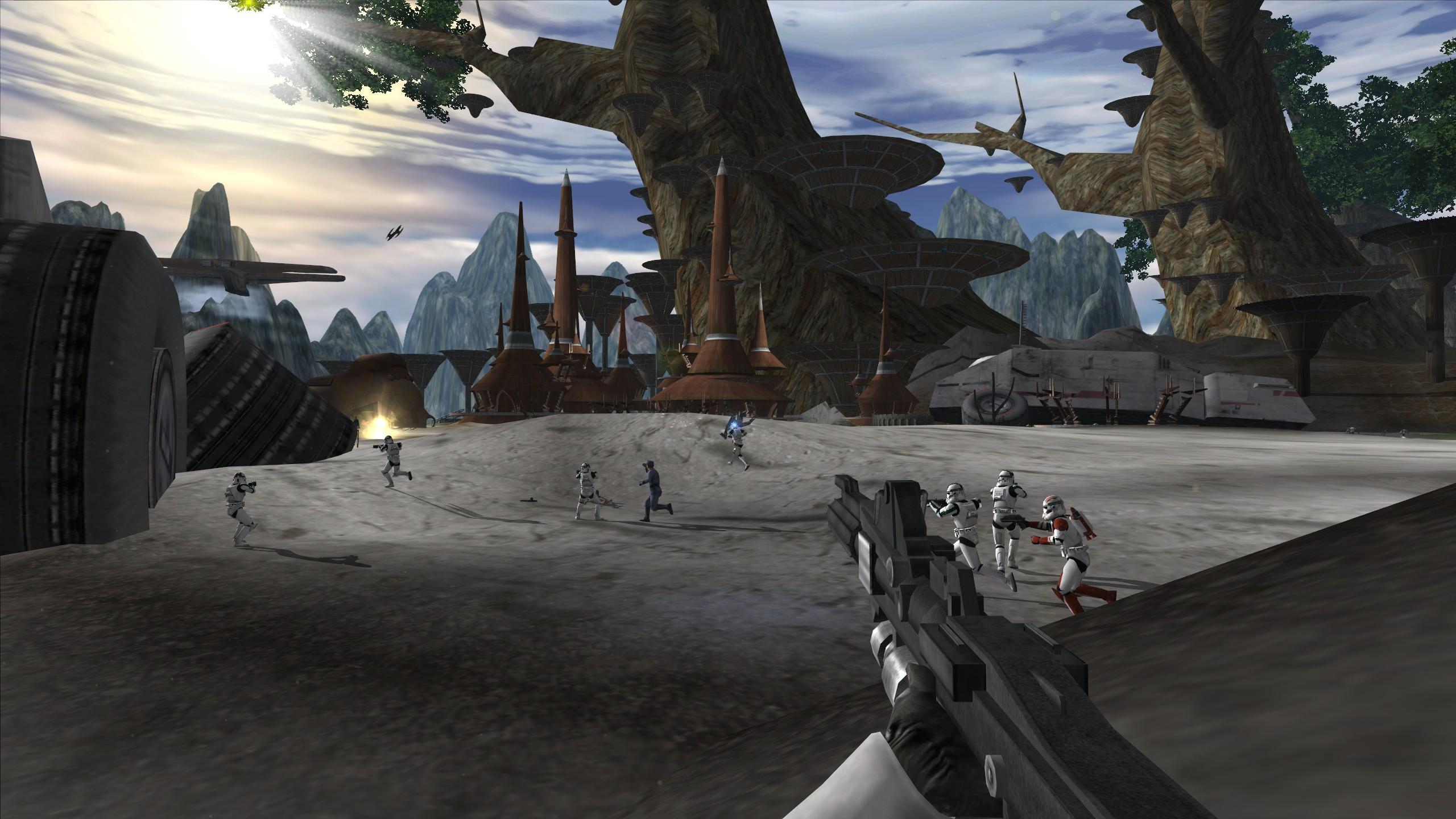 Kashyyyk Kachirho Beach File Star Wars Battlefront Ii Demake Mod For Star Wars Battlefront Ii Mod Db