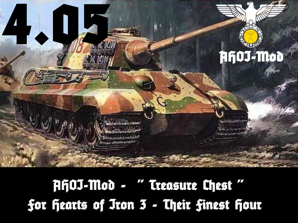 """AHOI Mod - A HOI3 Treasure Chest"" for TFH - Download and main information AHOI-Mod-TFH-405"