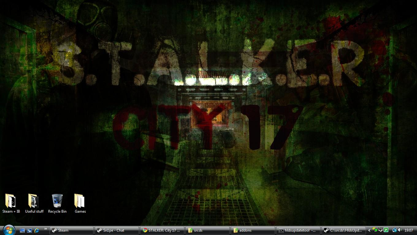 STALKER City 17 Wallpaper 1