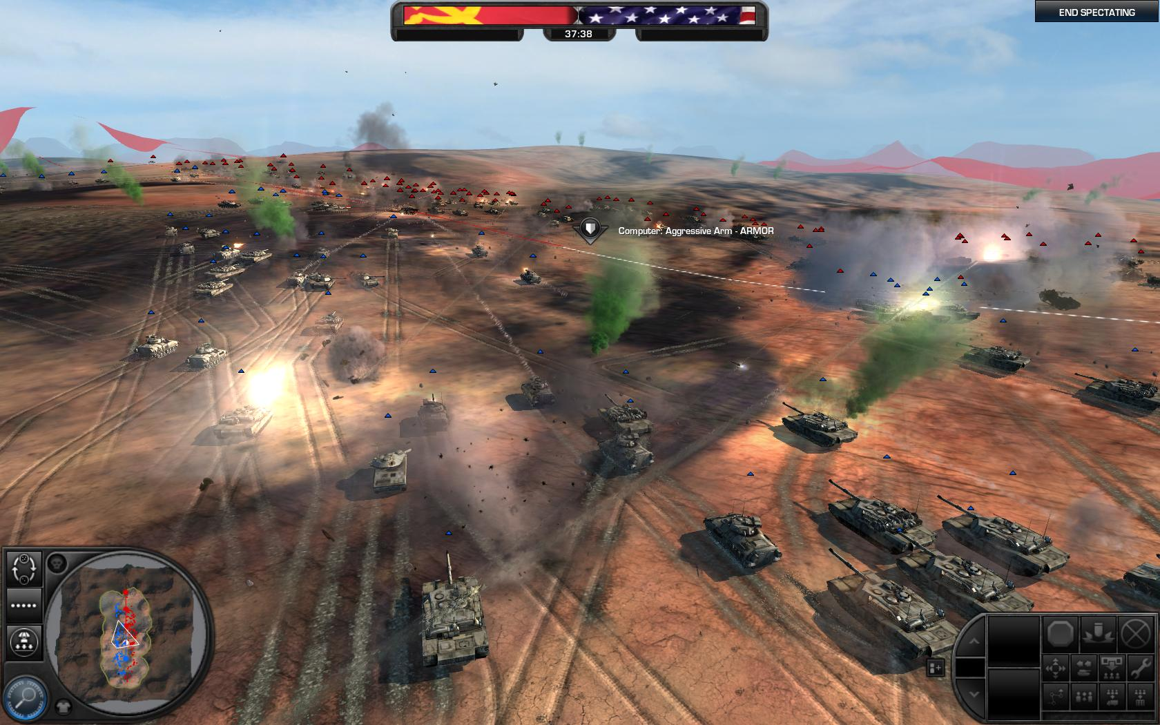 Give War Chance >> World in Conflict Fun Maps addon - Mod DB