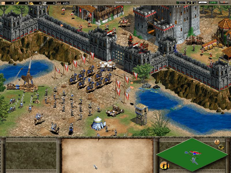 Age of empires 2 age of kings resolution mod