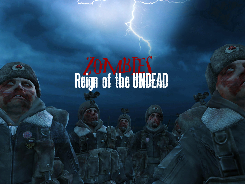 RotU Release v1 10 file - Reign of the Undead - Zombies mod for Call