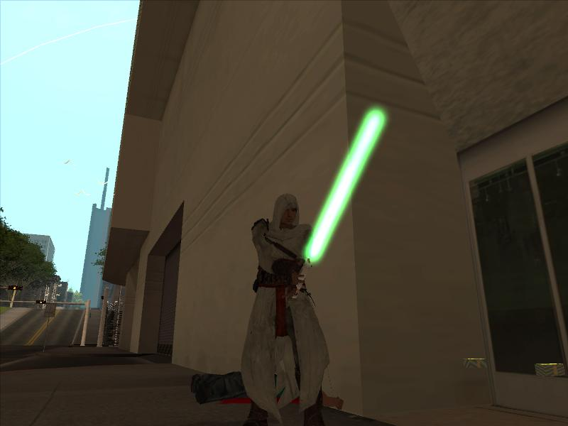 LightSaber ( 5 different colors ) BETA addon - Grand Theft